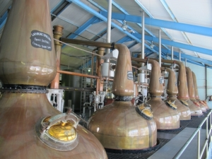 Scotch whiskey distillery