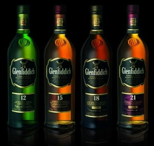 Glenfiddich 12 year old whiskey
