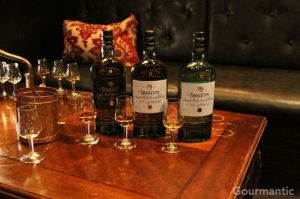 Single malt whisky tasting