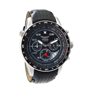 Aviator Gents World Time Pilot Watch