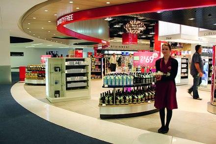 duty free store staff